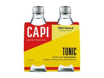 Capi Tonic Water Bottle 250mL 4 Pack