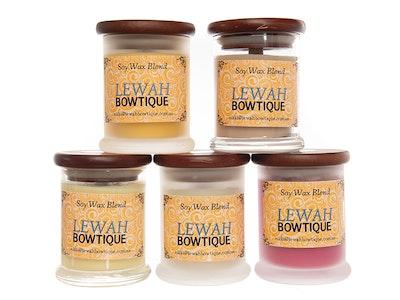 Lewah Bowtique Medium Candle