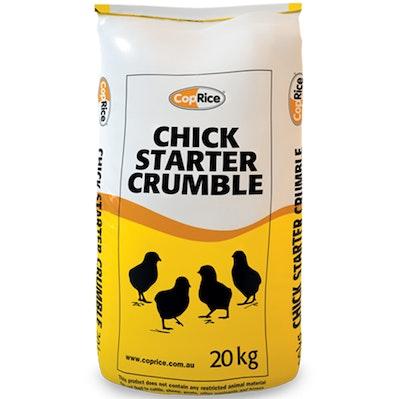Coprice Chicken Starter Crumbles Laying Hens Ornamental Bird 20kg