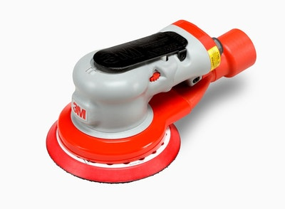 Elite Central Vacuum Ready Random Orbital Sander 150mm 5mm ORBIT
