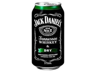 Jack Daniel's & Dry Can 375mL