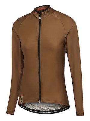 Attaquer Womens A-Line Lightweight Jacket Chestnut