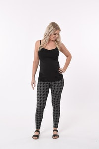 Sprout Maternity Houndstooth Leggings