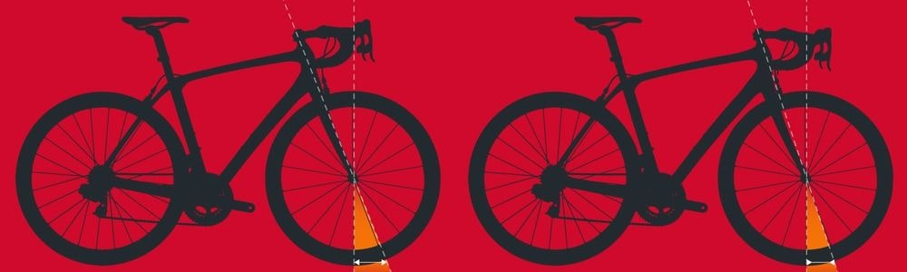 fullpage Trail via headtube angle Geometry charts explained BikeExchange