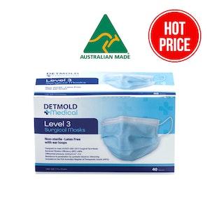Australian Made Level 3 Surgical Mask - Inner box of 40
