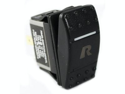 RAM-SWITCH-DPSTL :: RAM DPST Rocker Switch With Light