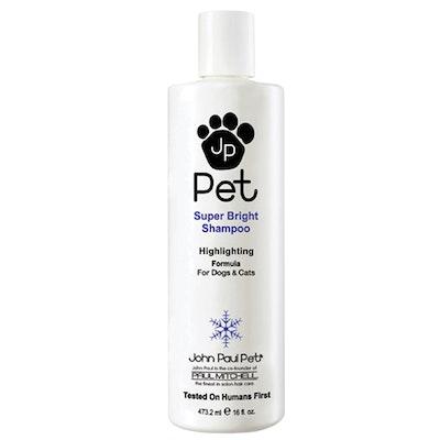John Paul Pet Super Bright Dogs & Cats Grooming Shampoo 473ml