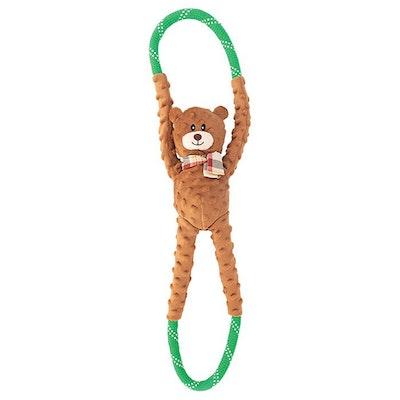 Zippy Paws Ropetugz Bear Plush Dog Toy 71 x 17 x 12cm