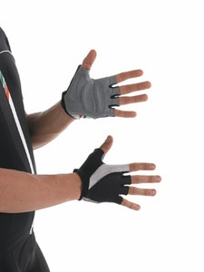 Santini Gel Blend Lycra Mesh Gloves