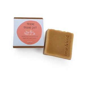 Bear and Kind There There Pet Soothing Shampoo Bar