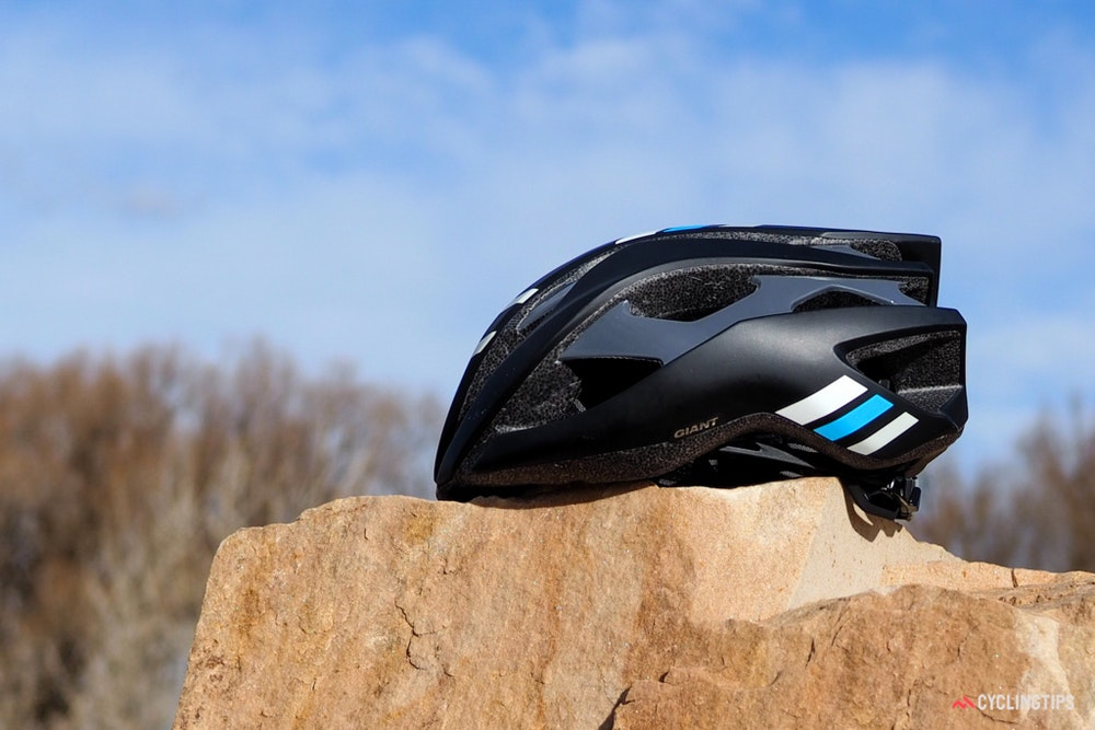 Giant Rev helmet profile