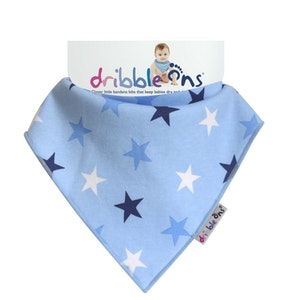 Sock Ons DRIBBLE ONS  BIB Blue Star