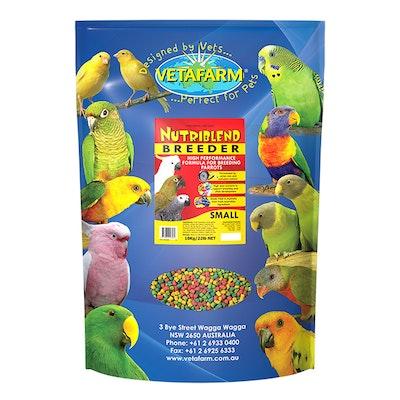 Vetafarm Nutriblend Pet Bird Parrot Breeder Pellet Food - 2 Sizes