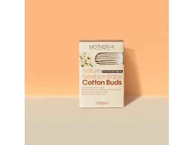 Mother-K Cotton Buds (2 Kinds Set) - 300pcs