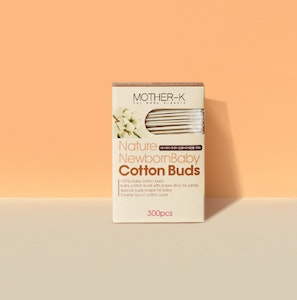 Mother-K Cotton Buds (2 Kinds Set) - 300pcs