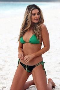 Styelle Swim Kyanne | Black Rainforest Eco Bikini Bottom