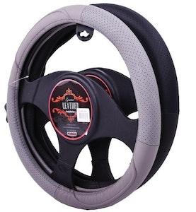 Oklahoma Steering Wheel Cover - Grey [Leather]