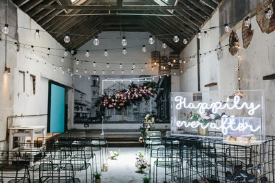 LUSH WAREHOUSE WEDDING INSPIRATION