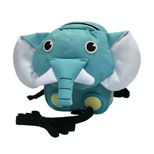 BibiLand BibiKids Small Harness Back Pack with lead - ELEPHANT
