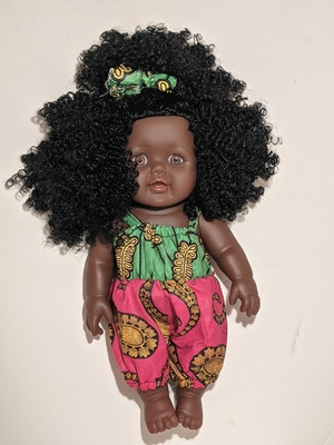Designed by Florence Mainza Eno Doll
