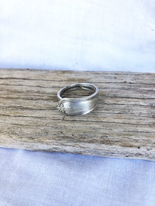 "Silver ""Soph"" ring (size U)"