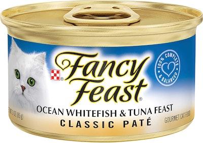 Fancy Feast Gravy Lovers Ocean Whitefish & Tuna Feast