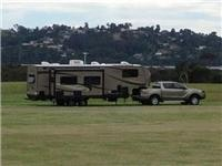 Space for Big Rigs Merimbula Lake Holiday Park.