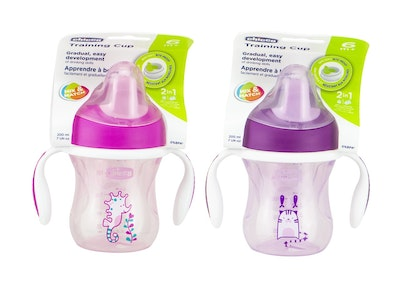 Chicco Training Cup Pink/Purple 6m+