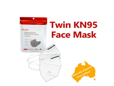 WH Safe Twin Pack KN95 Face Mask