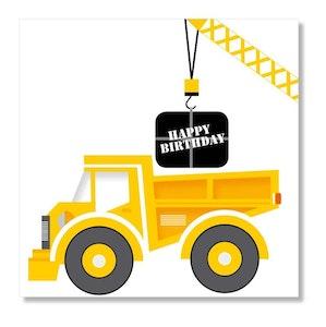 Birthday Tip Truck
