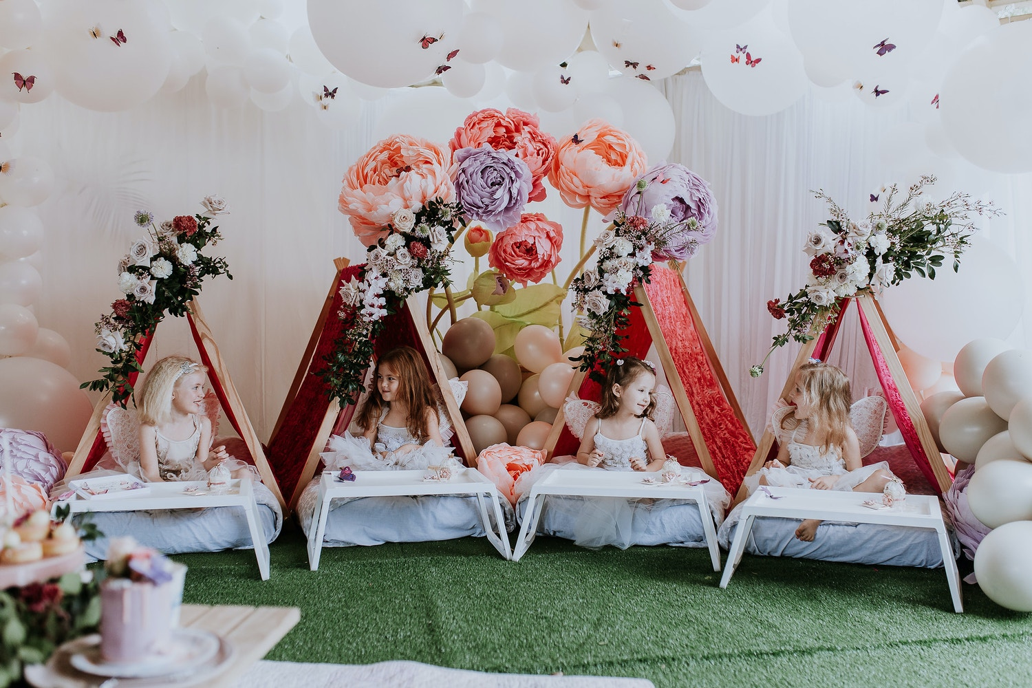 AN ENCHANTED BUTTERFLY GARDEN 5TH BIRTHDAY PARTY
