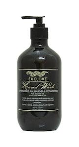 Euclove Handwash Lemongrass, Palmarosa & Cedarwood 500 ml