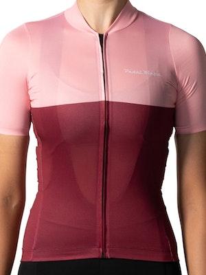 Pedal Mafia Women's Tech Jersey - Pink Lake