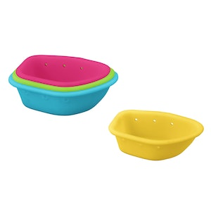 green sprouts Sprout Ware Floating Boats made from Plants (4 boats)-Multicolor-6mo+