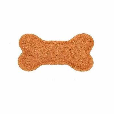 Doggy Topia Loofah Bone Dental Toy - Small
