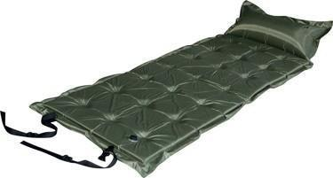 Trailblazer 21-Points Self-Inflatable Air Mattress With Pillow  | Olive Green
