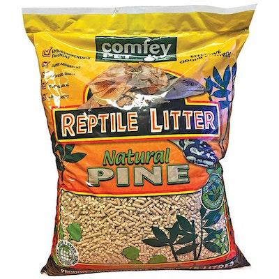 Comfey Pet Premium Reptile Wood Based Litter Pine Odor Control 15L