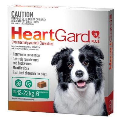 Heartgard Frontline Worming Treatment 12-22kg Dog