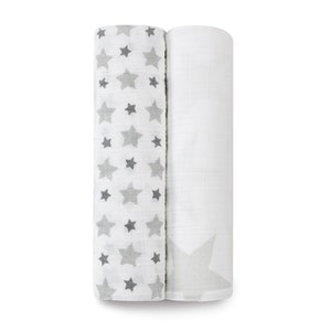 twinkle classic 2-pack muslin swaddles