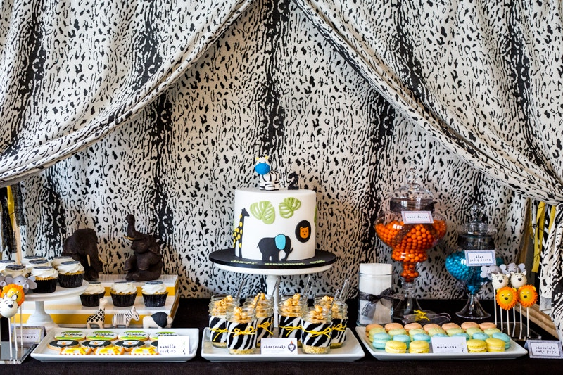 Modern Safari Party | Silk & Cedar Events