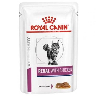 Royal Canin Vet Renal Chicken Wet Cat Food 85G