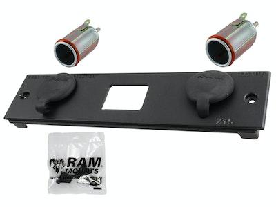 RAM-FP2-CIG2-BLOCK :: RAM Double Female 12V Power Block