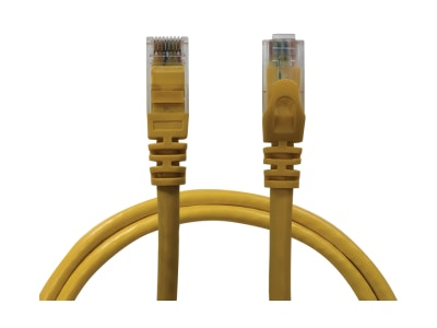 Neptune 10m Cat6 Ethernet Network patch lead computer cable in yellow