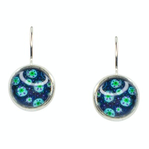 Global Sisters Shop Adriana Earrings - Blue