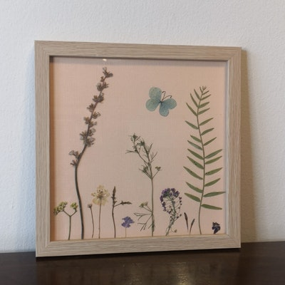 Florapeutic Into The Woods - Pressed Flower Art
