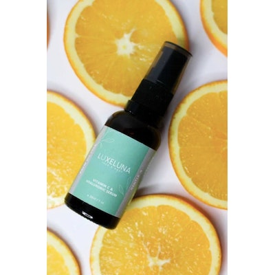 Luxeluna Face and Body Vitamin C, Hyaluronic Acid & Niacinamide Serum (Palm Oil Free)