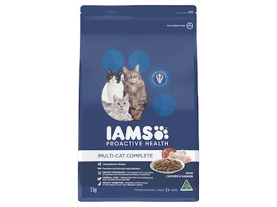 Iams Cat Adult Multi-cat Complete Chicken & Salmon 3kg