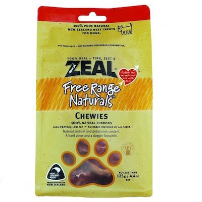 Zeal Free Range Naturals Chewies Dog Cat Treat 125g