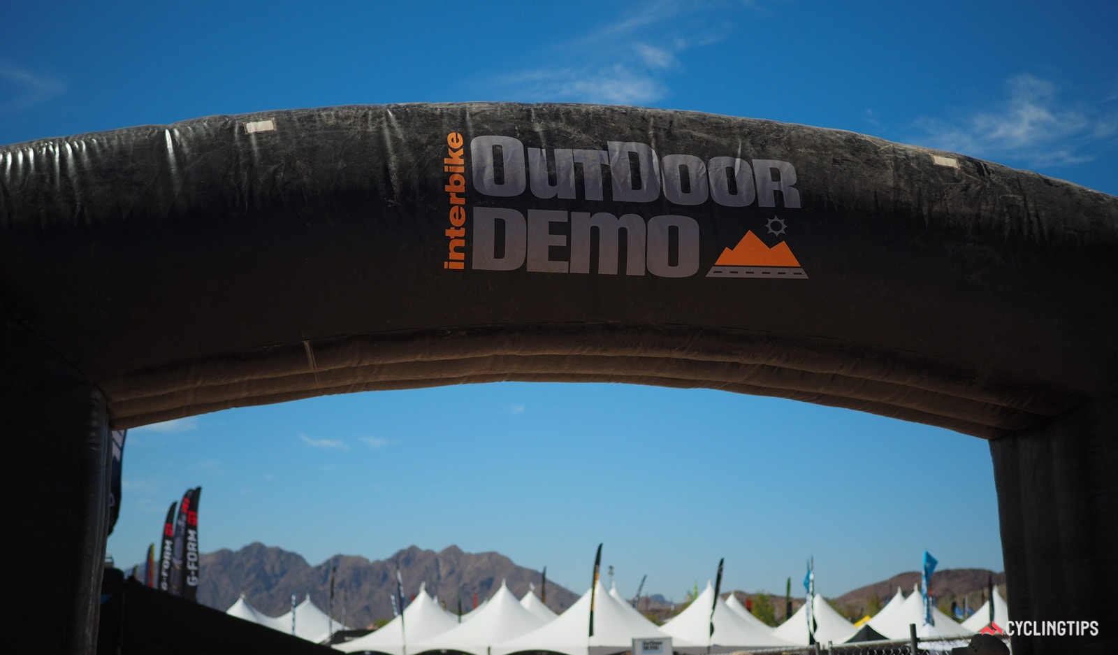 Interbike full tech coverage, Outdoor Demo