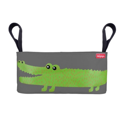 Ibiyaya Strollers Organizer - Crocodile (Gray)